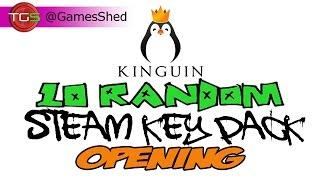Kinguin.net 10 Random STEAM CD-KEY Opening!