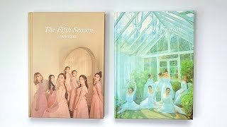 😭A Slightly Disappointed Unboxing of Oh My Girl 오마이걸 1st Album The 5th Season (Both Ver)