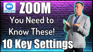 10 key Zoom settings you need to understand #zoomsettings #teachonline