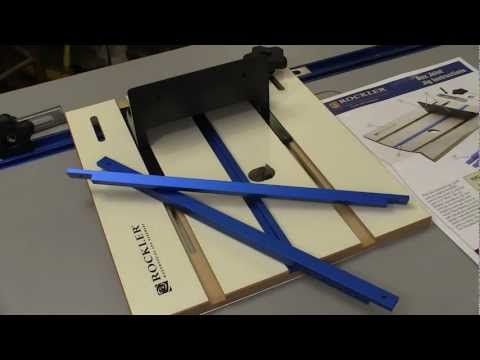 Rockler Router Table Box Joint Jig Review: NewWoodworker