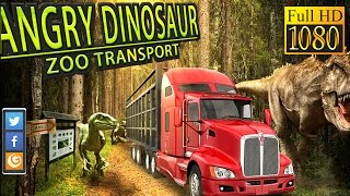 Angry Dinosaur Zoo Transport Game Review 1080P Official Trimcogames Simulation 2016
