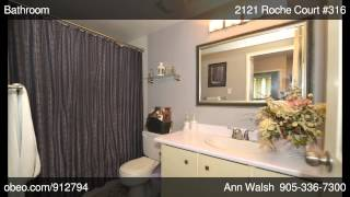 preview picture of video '2121 Roche Court 316 Mississuaga ON L5K2C7 - Ann Walsh - REMAX Garden City  Realty Inc, Brokerage'