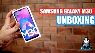 Samsung Galaxy M30 With AMOLED Display Unboxing And First Impressions
