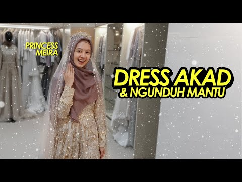 FITTING DRESS AKAD NIKAH KITA #2019amin