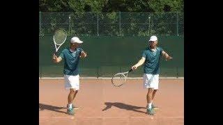 01 -مهارة الفور هاند للفديو الاول للمبتدئين  Forehand Skill Tennis