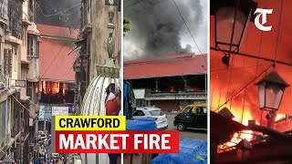 Fire breaks out at Mumbai iconic Crawford market, fire engines rushed - Download this Video in MP3, M4A, WEBM, MP4, 3GP