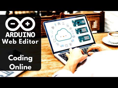 Arduino Web Editor Tutorial Step By Step | Arduino Online Code Upload - Online Programming