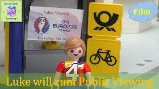EM 2016 Playmobil Film Deutsch PUBLIC VIEWING MIT HINDERNISSEN EM SPECIAL ♡ VERLOSUNG