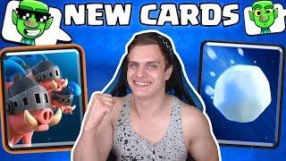 2 НОВЫЕ КАРТЫ в Clash Royale + НОВЫЕ ЭМОДЗИИ !!!!!