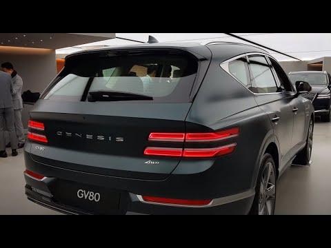 GENESIS GV80 SUV (2020-2021) Interior & Exterior 5-7 Sitze konfiguration   5-7 Seat Configuration