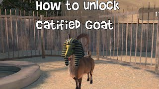 How to unlock Catified Goat in Payday on iOS / Andriod