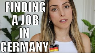 HOW I FOUND A JOB IN GERMANY (No German/ Non EU) | [Moving to Germany]