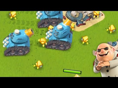 Using Rainmakers and Crystal Critters TOGETHER in Boom Beach!