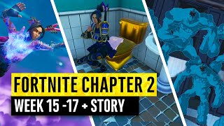 Fortnite | All Chapter 2 Map Updates and Hidden Secrets! WEEK 15 - 17 Story Theory