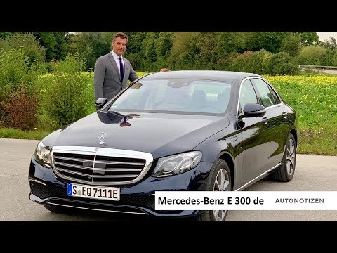 Mercedes-Benz E 300 de 2019: Plug-in-Hybrid mit Diesel im Review, Test, Fahrbericht