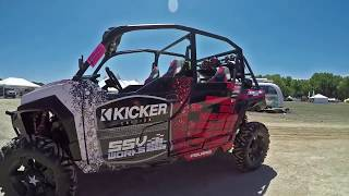KICKER AND SSV WORKS – POLARIS GENERAL – STEREO SYSTEM