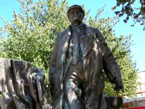The statue of Lenin in the Fremont distr