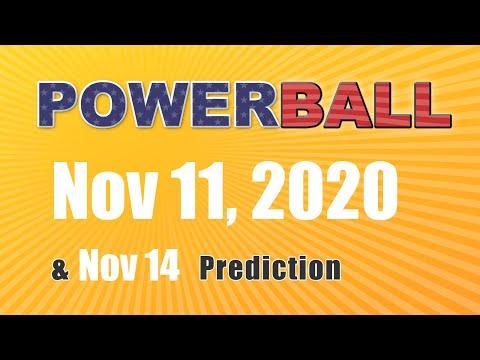 Winning numbers prediction for 2020-11-14|U.S. Powerball