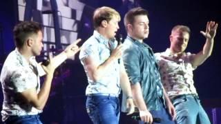 Westlife Medley live at Birmingham's LG Arena 4/6/12