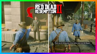 Did You Know.....You Can Do THIS To The Most Racist Guy In Red Dead Redemption 2 & Get Away With It!