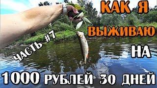 ВЫЖИВАЮ МЕСЯЦ (30 ДНЕЙ) НА 1000 РУБЛЕЙ В РОССИИ ДЕНЬ 23-26 НАШЛИ ТАНК НА ПОИСКОВЫЙ МАГНИТ