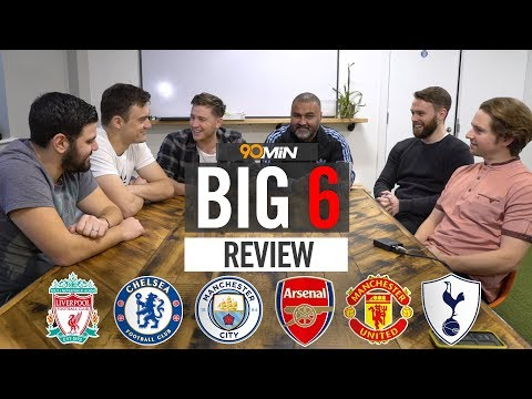 PREMIER LEAGUE REVIEW | THE BIG 6 | Liverpool, Chelsea, Man City & Leicester all in the title race!?