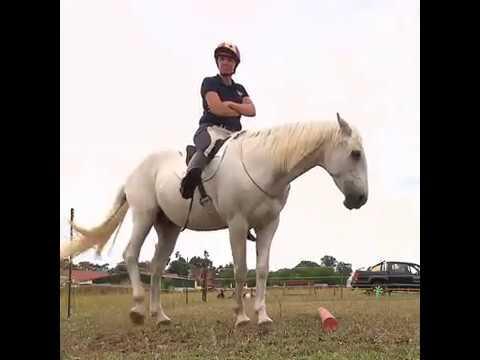 """VOX """"Reiten ohne alles"""" mit Diana Eichhorn und Klaudia Duif auf dem Pferdehof Duif"""