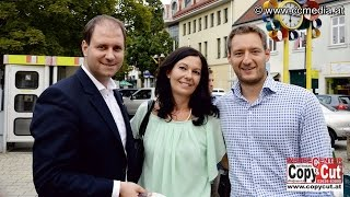 preview picture of video '4. 9. 2014 - ÖVP Zuhörtour in Mattersburg - CCM-TV.at'