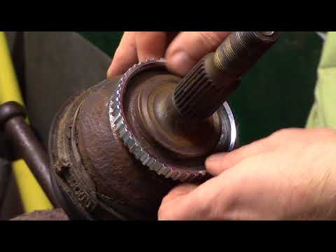 Removal of ABS ring sensor  - смотреть онлайн на Hah Life