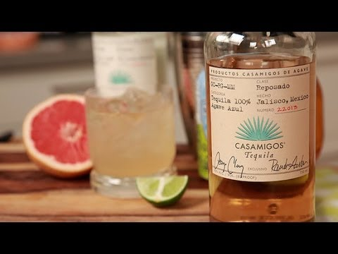 Video Grapefruit Tequila Cocktail Recipe | Happiest Hour