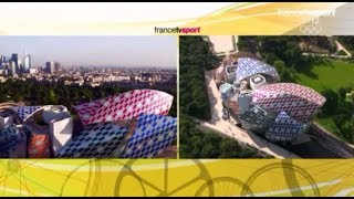Tour de France Drone - Fondation Vuitton