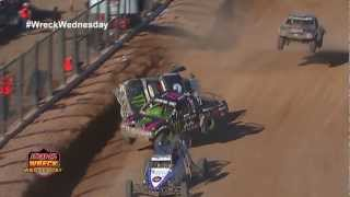 2 Off Road Trucks Colide In The Air At The 2012 Lucas Oil Challenge Cup  WW 6