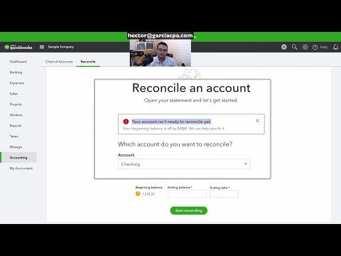 Fix Bank Reconciliation Discrepancies in QuickBooks Online