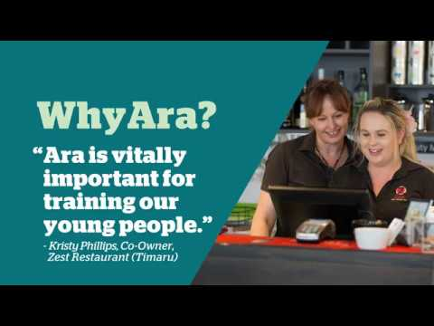 Ara and local industry - Timaru