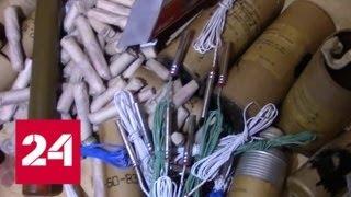 ФСБ показала чертежи, по которым в подпольных цехах модернизировали оружие - Россия 24