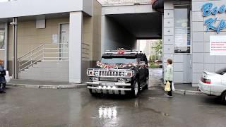 Свадебный Хаммер на заказ в Челябинске. (www.auto454.ru)