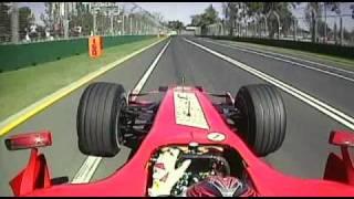 2007 Australian GP- HamiltonCAM, Kimi Raikkonen Victory Lap