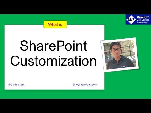 SharePoint Customization | SharePoint Customization Options | SharePoint Modern Site Customization