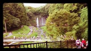 白糸の滝静岡県夏観光絶景