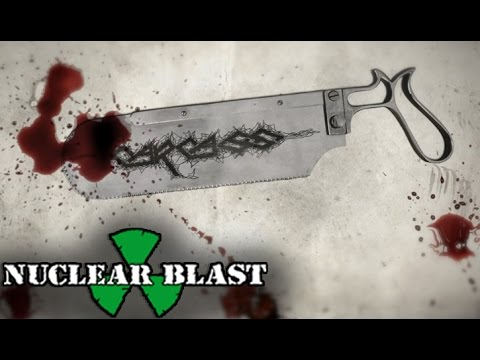 CARCASS -  Livestock Marketplace (OFFICIAL LYRIC VIDEO) online metal music video by CARCASS
