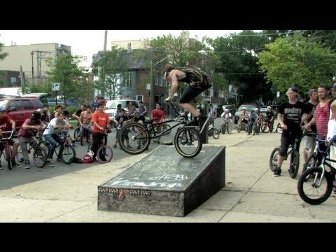 The Come Up BMX x ODI Chicago Street Jam 2013.