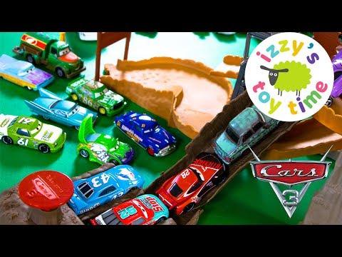 Cars 3 Midnight Jump Lightning McQueen Toy Cars for Kids from Disney Pixar Video for Children