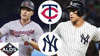 Minnesota Twins vs. New York Yankees Highlights | ALDS Game 2 (2019)