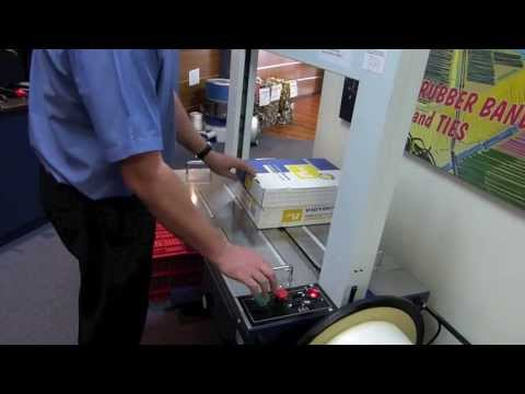 Automatic Strapping Machine - Venus Packaging Australia