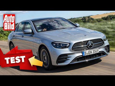 Mercedes E-Klasse Facelift (2020): Test - Neuvorstellung - Limousine