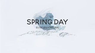 Gambar cover (Acoustic English Cover) BTS - Spring Day (봄날) | Elise (Silv3rT3ar)