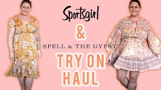 Sportsgirl And Spell & The Gypsy Collective Try On Haul | Plus Size Boho Fashion March 2019