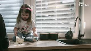 Dotykowa bateria kuchenna: KFA Armatura Tauri TouchMe