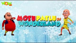 Motu Patlu Cartoons In Hindi |  Animated movie | Motu patlu in wonderland| Wow Kidz