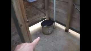Gov Made Pit Toilet